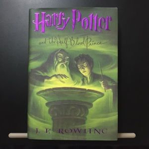 Harry Potter book 6 🌟